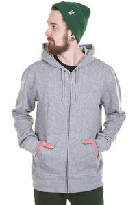 DC Rebel Zip-Hoodie (heather grey)