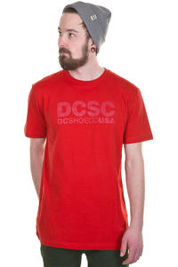 DC DCSC T-Shirt (athletic red)