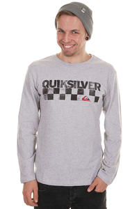 Quiksilver Checkers Longsleeve (light grey heather)