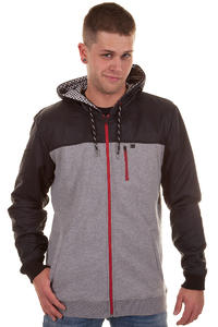 DC Lafayette Blues Zip-Hoodie (heather grey)