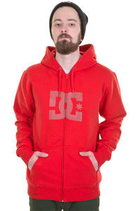 DC Star SP13 Zip-Hoodie (athletic red)