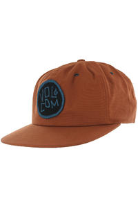 Volcom Econoline Station Snapback Cap (copper)