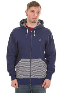 Makia Zip Up Zip-Hoodie (blue)