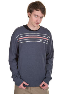 Makia Steel Flag Sweatshirt (navy melange)