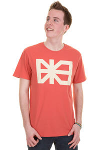 Makia Flag T-Shirt (burnt sienna)