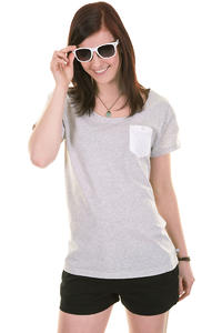 Makia Pocket SP13 T-Shirt girls (grey melange)