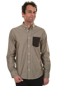 Carhartt Alred Hemd (tobacco craw black)
