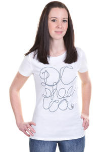 DC Twine T-Shirt girls (optic white)