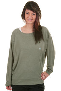 DC New Logo Sweatshirt girls (light olive)