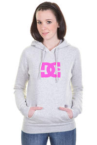 DC Star Hoodie girls (grey heather)