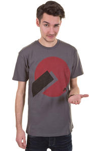 Analog Big Disk T-Shirt (charcoal)