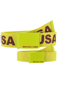 DC Chinook 5 Gürtel reversible  (fluorescent yellow)