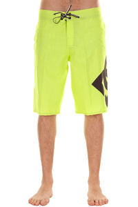 DC Lanai Essential 4 Boardshorts (fluorescent yellow)