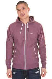 Carhartt Hooded Gym Zip-Hoodie (varnish heather white)