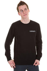 Carhartt College Script Sweatshirt (black cloud)