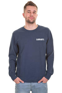 Carhartt College Script Sweatshirt (federal white)