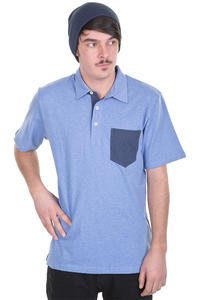 Carhartt Keat Polo-Shirt (blue heather navy heather)