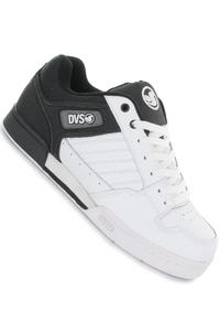 DVS Durham Leather Schuh (black white action)