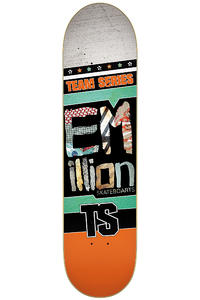 "EMillion Team Series 7.5"" Deck (orange)"