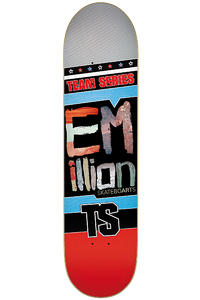 EMillion Team Series 8&quot; Deck (red)