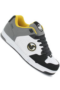 DVS Havoc Leather Shoe (white grey action)