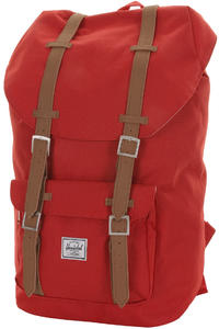 Herschel Little America Rucksack (red)