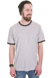 Carhartt Ringer Pocket T-Shirt (grey heather asphalt)