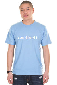 Carhartt Script T-Shirt (aquarium white)