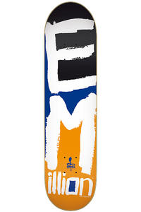"EMillion Cobra II Series 7.75"" Deck (orange)"