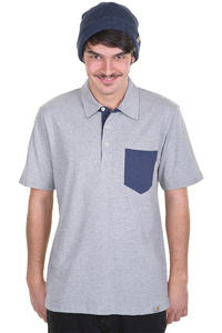 Carhartt Keat Polo-Shirt (grey heather navy heather)