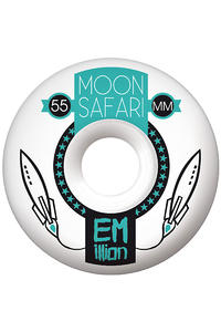 EMillion Moon Safari Logo 55mm Wheel 4er Pack  (mint)