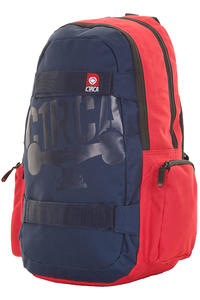 C1RCA Skate Rucksack (red navy)