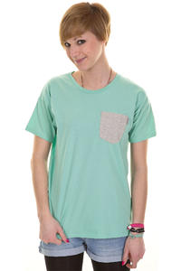 Carhartt Contrast Pocket T-Shirt girls (polynesia light grey heather)