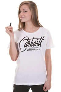 Carhartt Travis T-Shirt girls (white black)