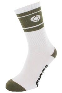 C1RCA Triplet Socken US 9-11  (white green)