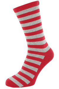 Carhartt Basic Socks US 6-11  (red heather light grey heather)