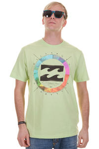 Billabong Colour Wheel T-Shirt (neon lime)