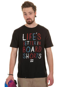 Billabong Life Is Better T-Shirt (black)
