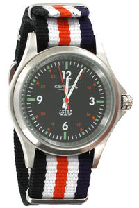 Carhartt Military Watch Uhr (navy white black)