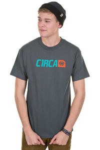 C1RCA Corp Logo T-Shirt (charcoal)