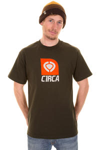 C1RCA Box Icon T-Shirt (dark chocolate)
