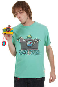 Billabong Shoot Surfer T-Shirt (light jade heather)