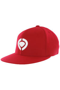 C1RCA Icon 210 Fitted Cap (red white)