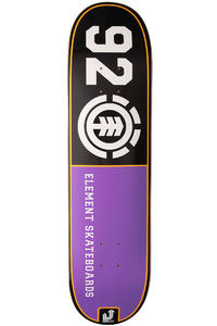 "Element Team HighLight 92 8"" Deck (black purple)"