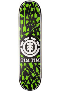 "Element Tim Tim Icons 8"" Deck (black green)"