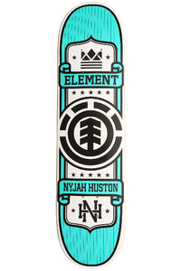 "Element Huston Represent 8"" Deck (turquoise)"
