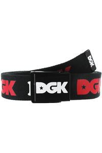 DGK Skateboards Haters Gürtel (black red)