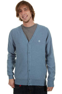 Element Pause Cardigan (blue heather)