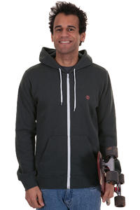 Element Smith Zip-Hoodie (off black)