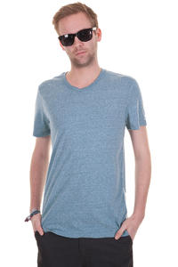 Element Basic V T-Shirt (blue heather)